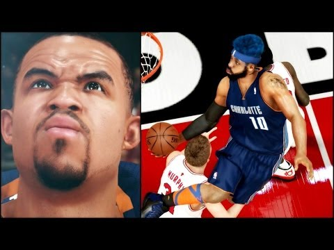 NBA 2k14 MyCAREER Playoffs PS4 - ECSF 6 Two Man Team - How Many Alley Oops