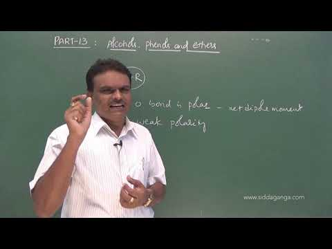 2 PUC - CHEMISTRY - ALCOHOL PHENOLS AND ETHERS - PART 13