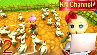 Trò chơi KN Channel FARM TOGETHER  tập 2 | NUÔI CÁ CHÌNH ĐIỆN TRÊN NÔNG TRẠI BÉ NA