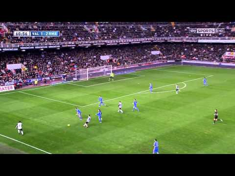 La Liga 22 12 2013 - Valencia vs Real Madrid - HD - Full Match - 2ND - English Commentary