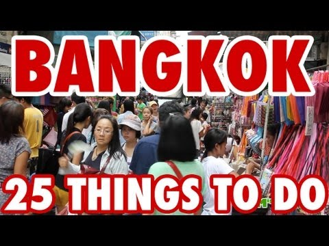 Top 25 Amazing Things To Do in Bangkok, Thailand