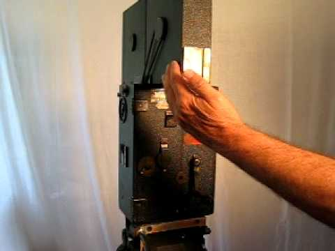 Pathe 35mm hand cranked movie camera