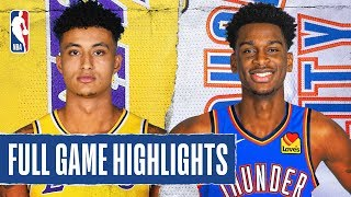 LAKERS at THUNDER | FULL GAME HIGHLIGHTS | January 11, 2020