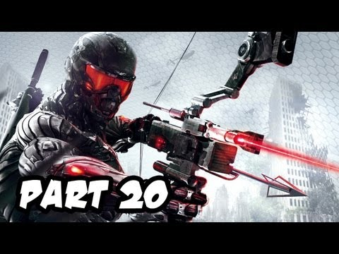 Crysis 3 Gameplay Walkthrough - Part 20 - Mission 6: Only Human (Xbox 360/PS3/PC HD)
