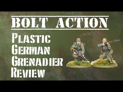 Bolt Action: Plastic German Grenadiers Review