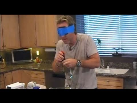 Cloning a Snickers Bar - Blindfolded!