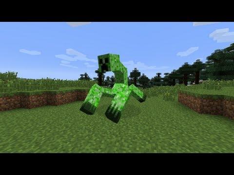 Minecraft Mod Spotlight - Mutant Creeper And Creeper Minion! (Mutant Creatures Mod!)