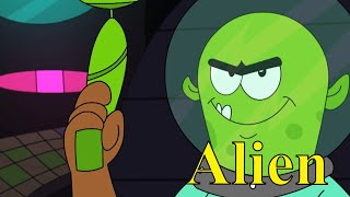 Happy Lucky Aur Alien Ep - 23 - Pyaar Mohabbat Happy Lucky - Funny Hindi Cartoon Show - Zee Kids