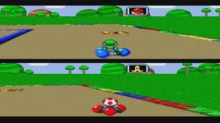 Gameplay #49 - Super Mario Kart (Battle) [part.: ZR] - You raise me up