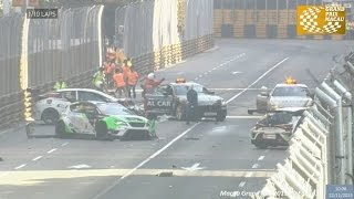 TCR 2015. Macau. Start crash