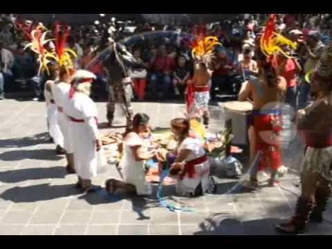 URUAPAN Tradicional fiesta Purhépecha en Uruapan