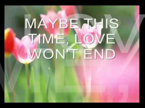 MAYBE THIS TIME by MICHAEL MURPHY WITH LYRICS WMP