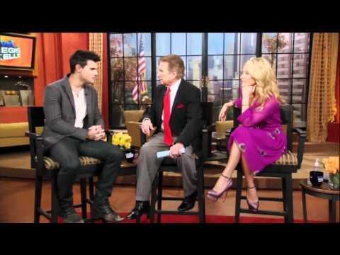Regis Begs to See Taylor Lautner's Abs