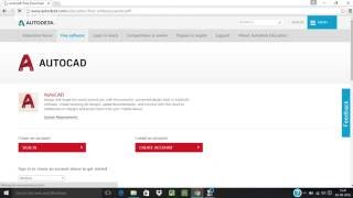 AutoCAD 2014/15/16/17 Original Free Download form AutoDesk