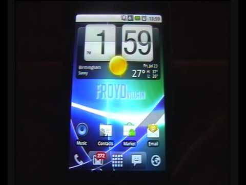 How to get Android 2.2 (Froyo) on HTC Hero