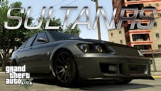 GTA 5 Custom Car Build : Karin Sultan