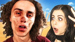 WE ALMOST STARVED TO DEATH! w/ AZZYLAND (Don