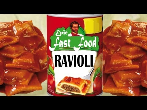 Fast Food Ravioli - Epic Meal Time