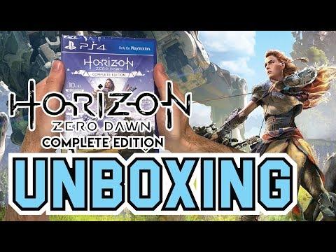 Horizon Zero Dawn Complete Edition (PS4) Unboxing !!