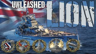 Lion Unleashed  ||  World of Warships