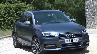Essai Audi A1 Sportback 1.0 TFSi 95 S-Tronic Ambition Luxe