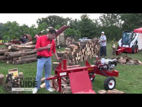 Watch The Split-Fire, Log Splitter Demonstration
