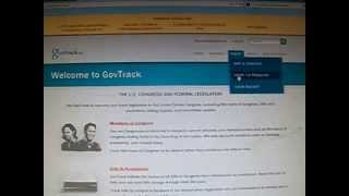 Removing the mystery of govtrack.us