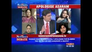 The Newshour Debate: Apologise Asaram  (Part 1 of 3)