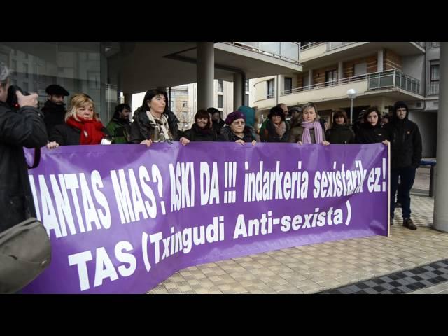 Erasoen kontrako protesta, TASek deituta