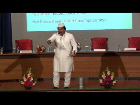 Vichaarmanthan 2012, Kristu Jayanti College - Dr. Pawan G Agrawal, CEO, Mumbail Dabbawala
