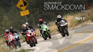 2015 Superbike Smackdown X: Street Shootout Part 1 - MotoUSA