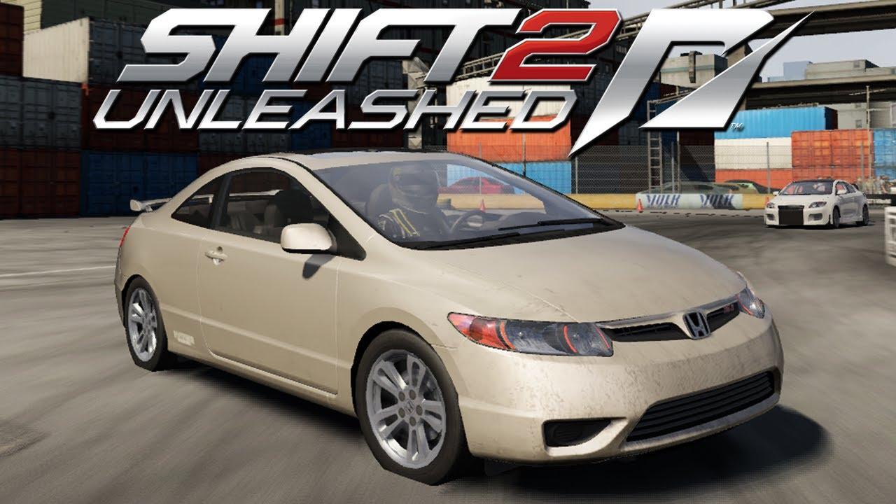 need for speed shift 2 honda civic si youtube. Black Bedroom Furniture Sets. Home Design Ideas