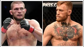 Conor McGregor vs Khabib Nurmagomedov Meeting and Insulting Each Other