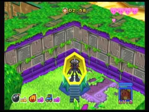 Bomberman World Game Bomberman Jetters Green World