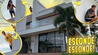 ESCONDE-ESCONDE NA NOVA MANSÃO!!
