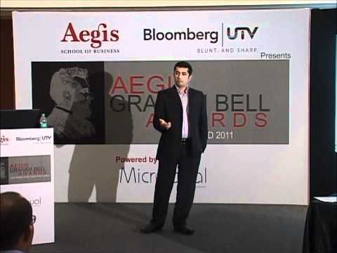 Aegis Graham Bell Awards 2011 Jury Round Presentation by Comviva.wmv