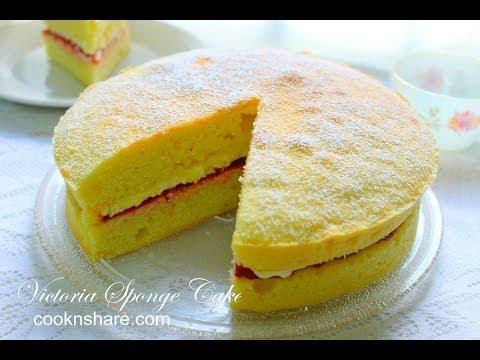 Victoria Sponge Cake thumbnail