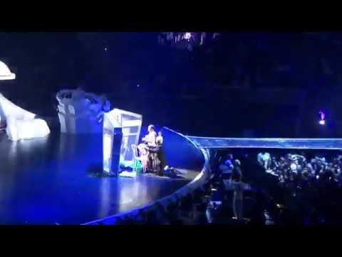 Lady Gaga Gets Change On Stage (naked) video