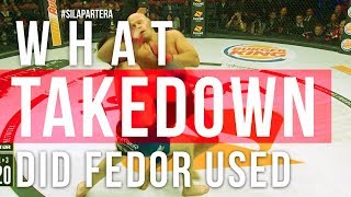 What Throw did Fedor do on Chael Sonnen?