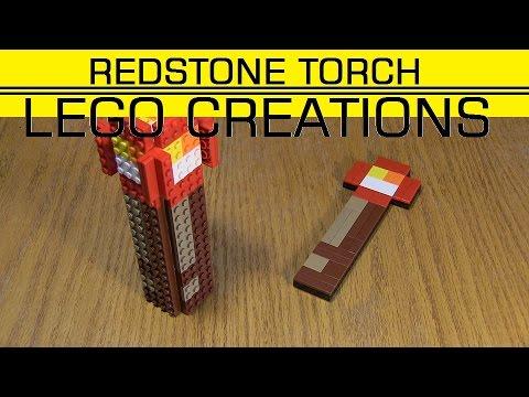 Minecraft как сделать редстоун-факел