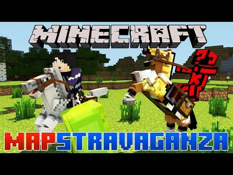 Minecraft Mapstravaganza! Guitar Hero, Infinity Race and Very Weird