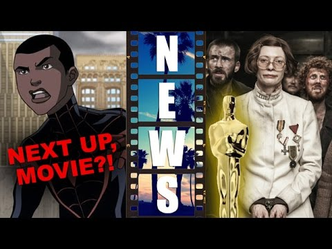 Animated Miles Morales! Next up, Movie? Snowpiercer in Oscars 2015 Predictions! - Beyond The Trailer