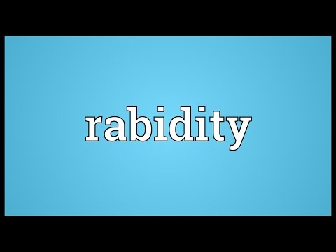Header of rabidity