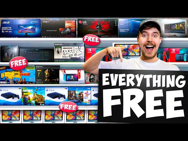 I Opened The World's First FREE Store thumbnail