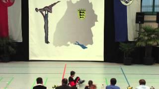 Amelie Seebacher & Patrick Liepert - LM Baden-Würtemberg & Hessen 2015