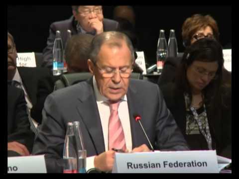 Выступление С.Лаврова на 21-ом заседании Совета министров ОБСЕ
