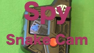 Spy Gear Spy Snake Cam Review, Hands-On Review August 2015