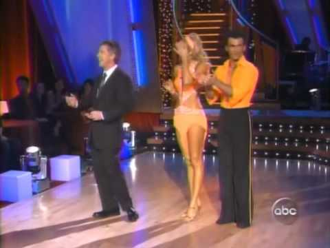 DWTS Stacy Keibler & Tony Dovolani Samba (Week 5)