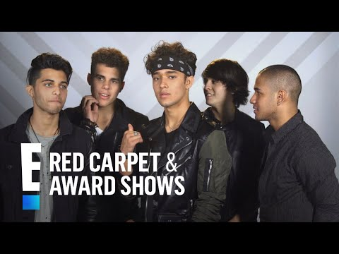 CNCO Reveals Their Celebrity Crushes | E! Live from the Red Carpet thumbnail