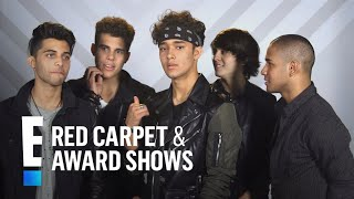 CNCO Reveals Their Celebrity Crushes | E! Red Carpet & Award Shows